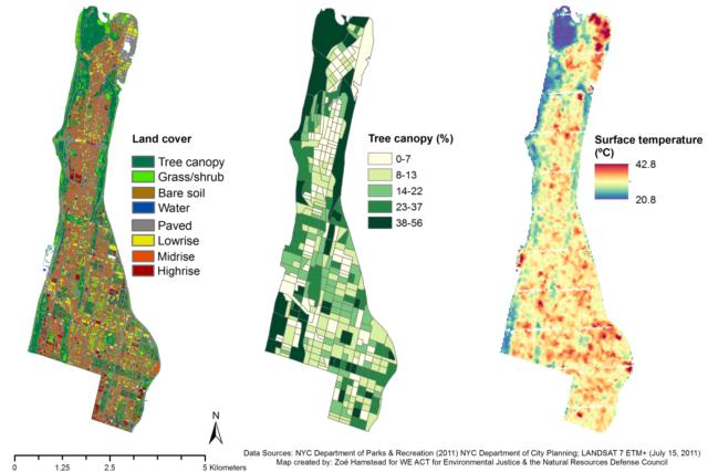 Map of Heat Exposure