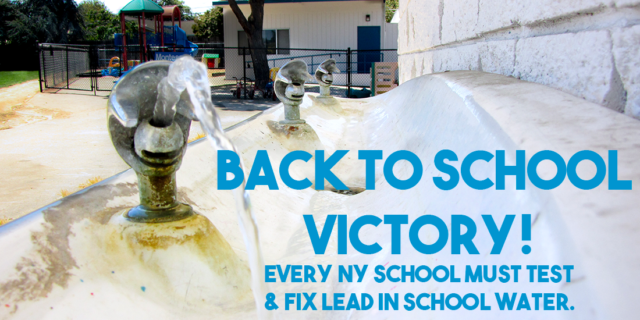 Signed School Water/Lead Bill