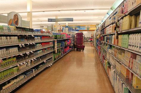 cosmetic aisle