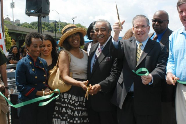 2009: In 2000, WE ACT's organizing efforts led to the New York City Economic Development Corporation developing a master plan for the neglected Harlem waterfront, based on the community's vision for more green space and waterfront access. After 9 years of community organizing efforts, on May 30, 2009, the West Harlem Piers Park was officially opened to the public.