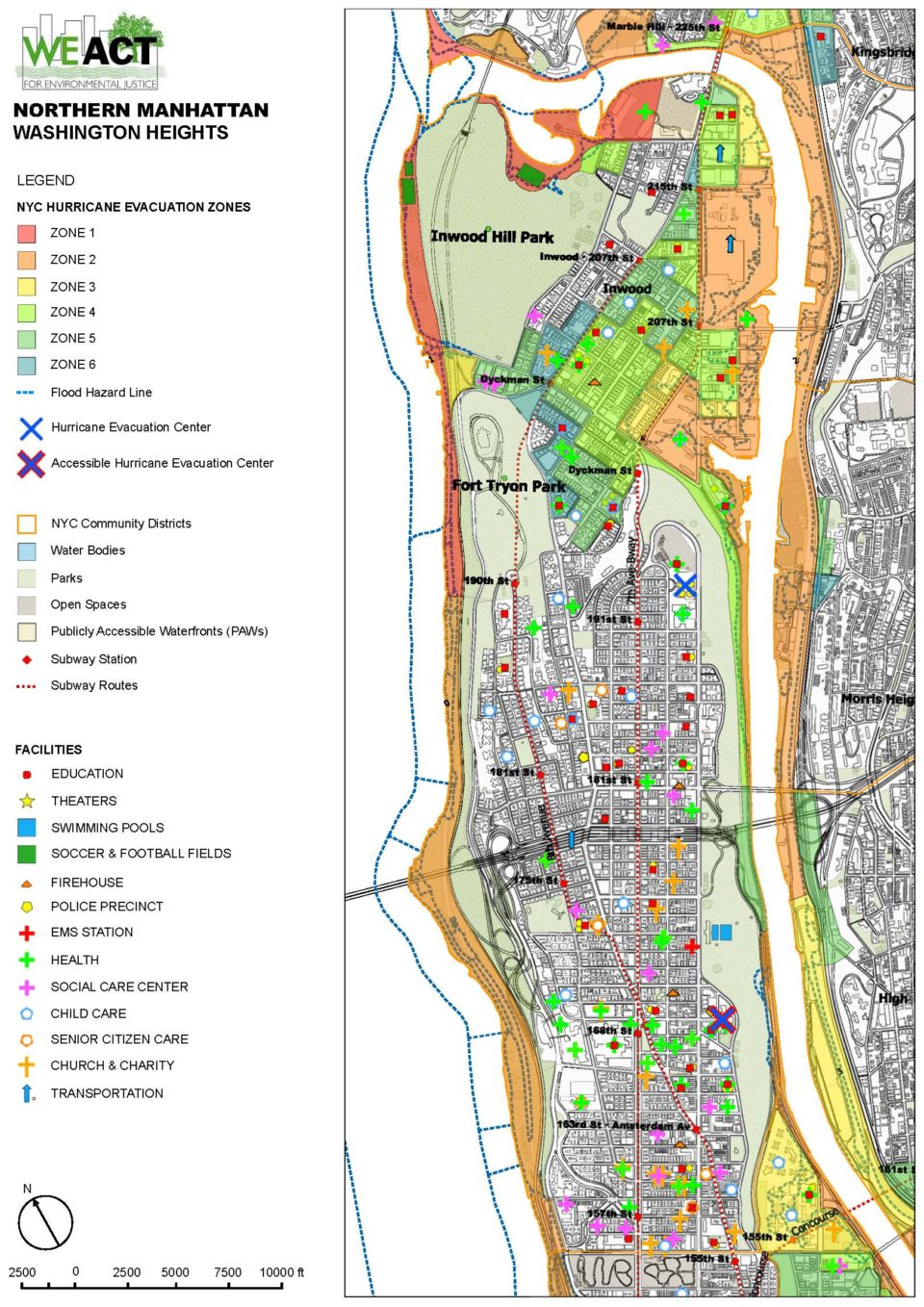 Northern Manhattan Climate Action Plan Climate Map Of