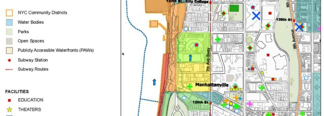 Northern Manhattan Climate Action Plan – Climate Map of West Harlem