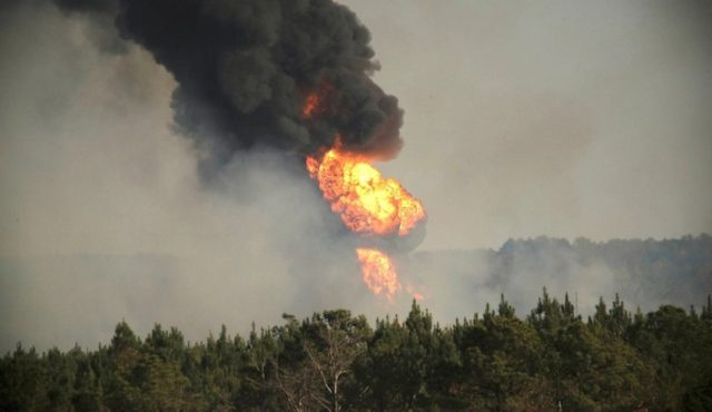 Pipeline Explosion Alabama
