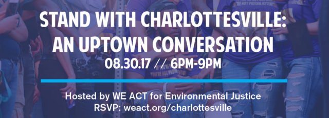 Stand with Charlottesville: An Uptown Conversation