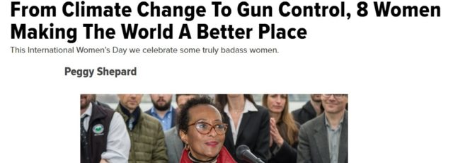 Peggy Shepard in the Huffington Post – March 8, 2019