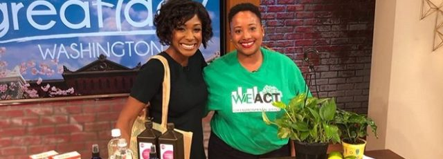 Kerene Tayloe Offers Earth Day Advice on Great Day Washington – April 22, 2019