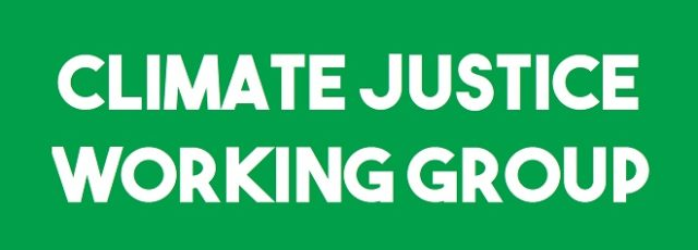 May Climate Justice Working Group Meeting