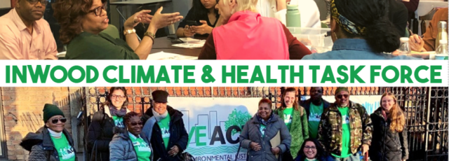 Inwood Climate & Health Task Force Meeting – Create the Plan