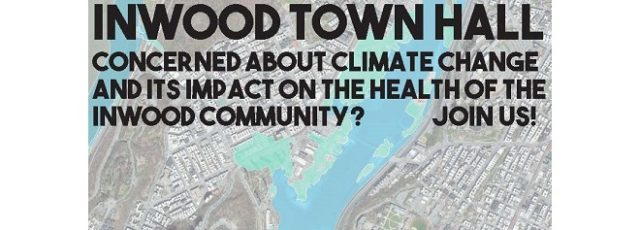 Inwood Climate & Health Town Hall