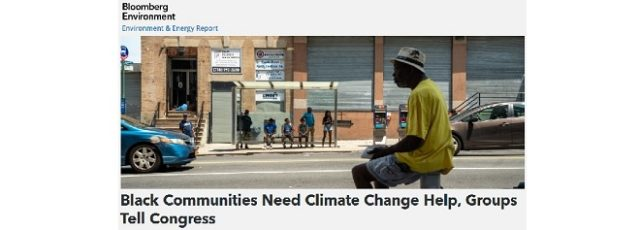 Peggy Shepard Quoted in Bloomberg on Impact of Extreme Heat on African American Communities – October 7, 2019