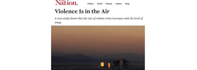 Lubna Ahmed Raises the Role of Racism in Air Pollution in the Nation – November 6, 2019
