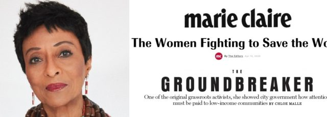 Peggy Shepard Profiled in Marie Claire's Women Fighting to Save the World – April 13, 2020