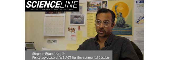 WE ACT Featured in Scienceline Video on Green New Deal – April 3, 2020