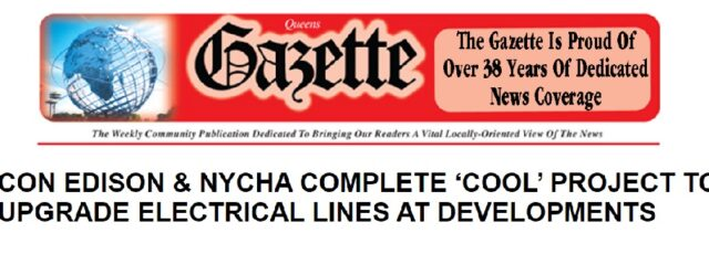 Queens Gazette Reports on Our Community Power Project – June 18, 2020