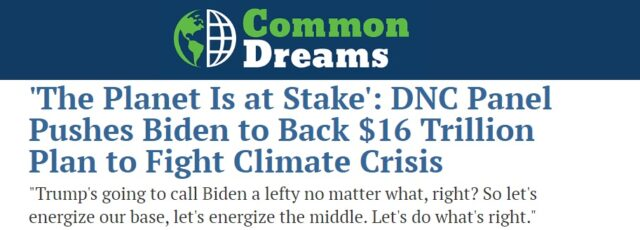 Peggy Shepard Discusses DNC Environment & Climate Crisis Council Platform Committee Recommendations in Common Dreams – June 4, 2020