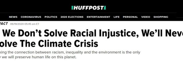 Taylor Morton Talks to HuffPost About Developing an Appreciation for Environmental & Social Justice – June 19, 2020