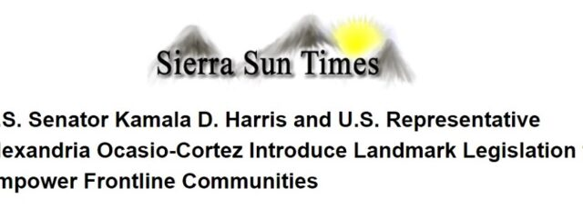 Peggy Shepard on the Climate Equity Act in the Sierra Sun Times – August 10, 2020
