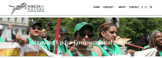 Peggy Shepard Explains Environmental Racism on the Forces for Nature Podcast – August 11, 2020