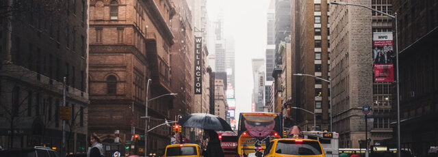It's Rainy Day in NYC