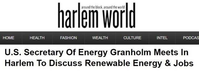 Secretary of Energy Meets with WE ACT to Discuss Solar Energy in Harlem World – June 29, 2021
