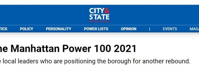 Peggy Shepard Recognized Among City & State New York's Manhattan Power 100 – Oct. 4, 2021